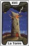 El tarot - La Torre
