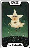 Carta del tarot La Estrella