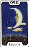 El tarot - La Luna