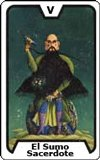 Carta del tarot El Sumo Sacerdote