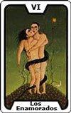 El tarot - Los Enamorados